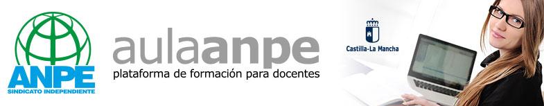 AulaAnpe.com presenta Cursos homologados por la Junta de Comunidades de Castilla-La Mancha