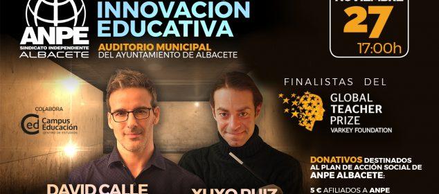 ÚLTIMAS PLAZAS Jornadas con David Calle y Xuxo Ruiz