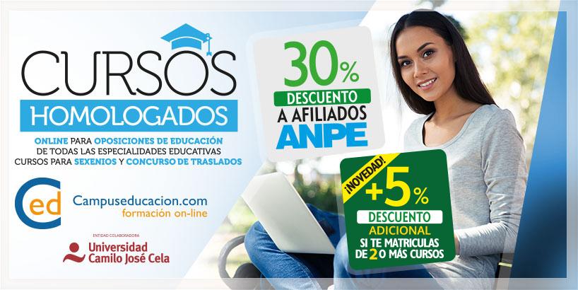 Cursos Homologados Online para Docentes - Campuseducacion.com