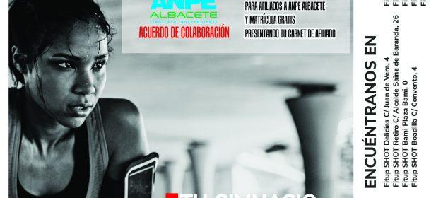 Nuevo Convenio de Anpe Albacete con Gimnasio Fit-Up de imaginalia