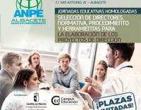 Jornadas Educativas Homologadas: Selección de Directores, Normativa, Procedimiento y Herramientas para la Elaboración de Proyectos de Dirección