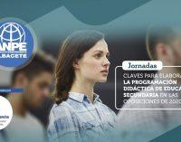 Jornadas Homologadas: CLAVES PARA ELABORAR LA PROGRAMACIÓN DIDÁCTICA DE EDUCACIÓN SECUNDARIA EN LAS OPOSICIONES DE 2020