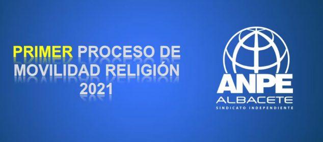 Exclusivo Afiliados. Video Charla Telemática Proceso Movilidad Profesorado de Religión
