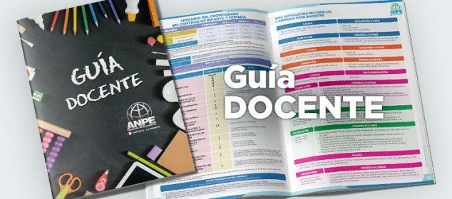 SOLICITA TU GUÍA DE INICIO DE CURSO 2021-2022 En Formato Papel. EXCLUSIVA PARA AFILIADOS/AS