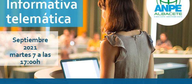 Exclusivo Afiliados. Video Charla Funcionarios En Prácticas E. Medias 2021